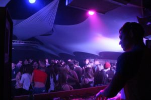 crowd at move nightclub exeter